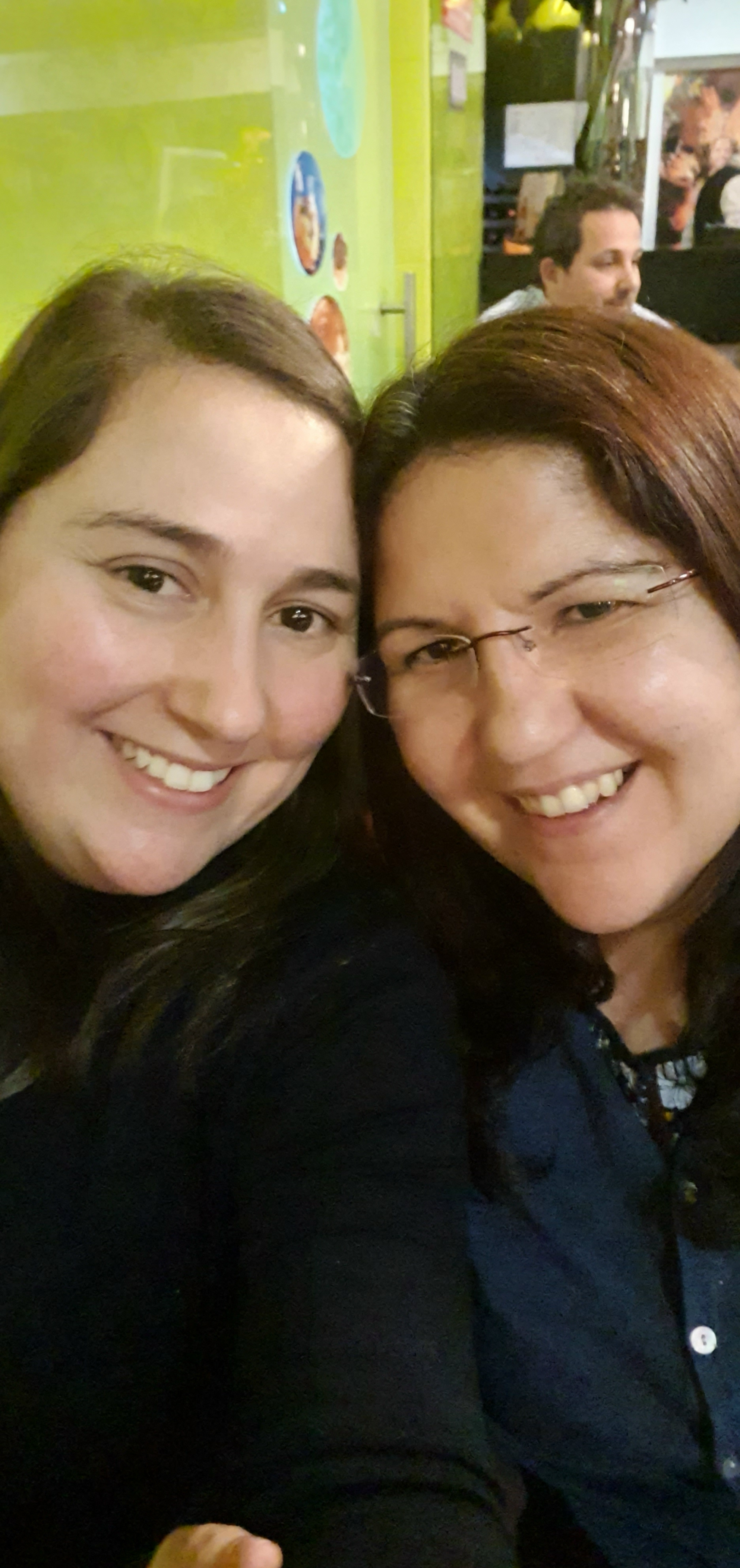 Foto mais recente das irmãs